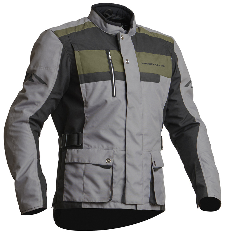 Lindstrands Jacket Hamar LightGreyBlack Size 48